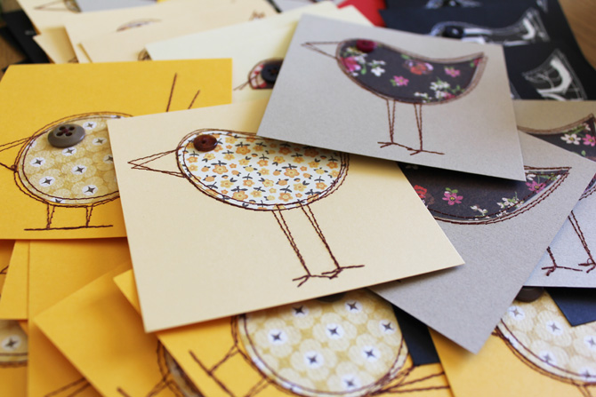 Birds-card-making-stack