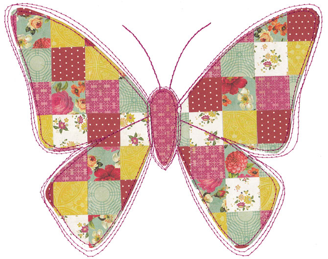 Butterfly-patchwork
